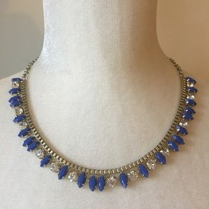 NWT J. Crew Blue Tiny Thorns Necklace